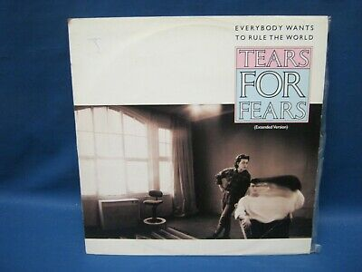 "Record 12"" Single Tears For Fears Everybody Wants To Rule The World 1079 • 3.33£"