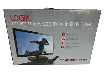 Logik L19hed12 19  Hd Ready Digital Freeview Led Tv With Remote Control • 79£