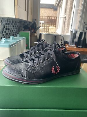 Mens Fred Perry Shoes Size 9 • 10.90£