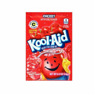 Kool Aid  Cherry,Orange, Strawberry,kiwi,mango,sharkleberry 48 Sachet Selection • 18.99£