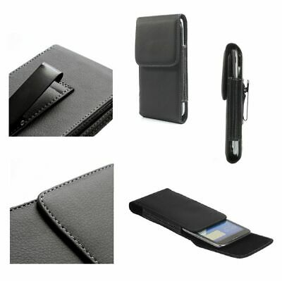 £17.29 • Buy For Samsung ATIV S Neo, SPH-I800 Case Metal Belt Clip Synthetic Leather Verti...