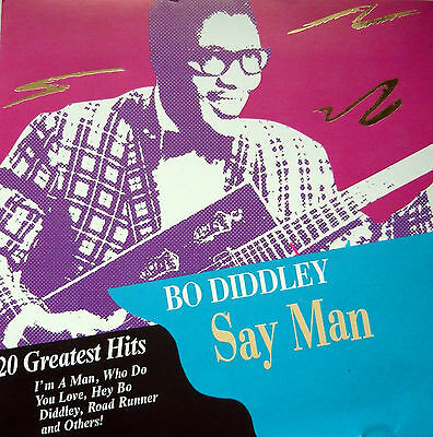Bo Diddley - Say Man 20 Greatest Hits Cd Exc £2 • 2£