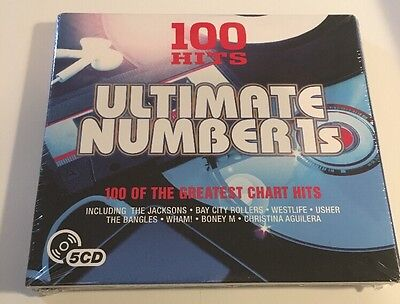 100 Hits Ultimate Number 1's. 5 CDs. New Sealed. Great For Family Parties. • 6.49£