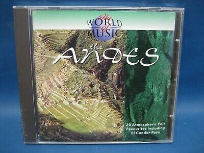 Cd Album The World Of Music The Andes 197 • 3.33£