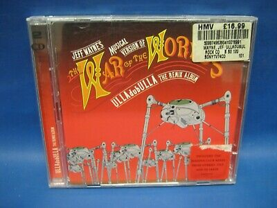 Cd Album The War Of The Worlds 471 • 3.33£