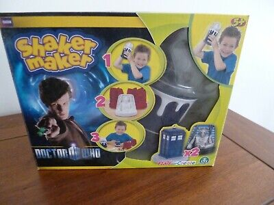 BBC Doctor Who Shaker Maker Cyberman And Tardis Moulds Flair (New And Boxed) • 7.99£
