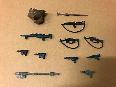 $ CDN169.99 • Buy 13 Vintage Star Wars Action Figure Weapons And Accessories Lot NO REPRO