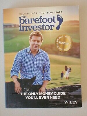 AU18 • Buy The Barefoot Investor - Scott Pape -  Book 2017