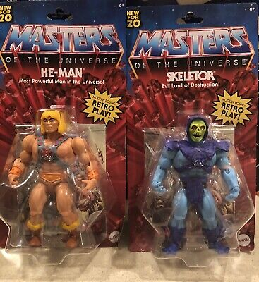 $49.95 • Buy Masters Of The Universe Origins He-Man & Skeletor. FAST FREE SAME DAY SHIPPING!