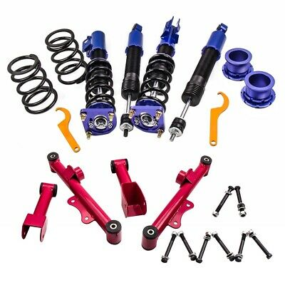 $395 • Buy Full Coilover Coil Spring Kits For Ford Mustang 94-04 Adj. Height+Control Arm