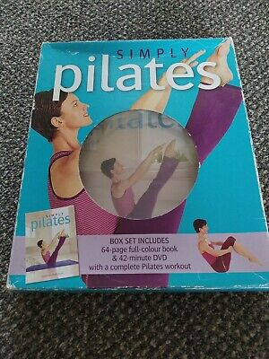 Simply Pilates DVD And Full Colour Book • 2.10£