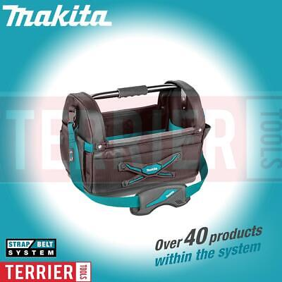 Makita E-05430 Blue Collection Large Open Tote Power Tool Bag With Strap • 50.99£