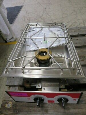Salvis Twin Burner Commercial Kitchen Catering Twin Gas Hob - Food Van/home • 350£