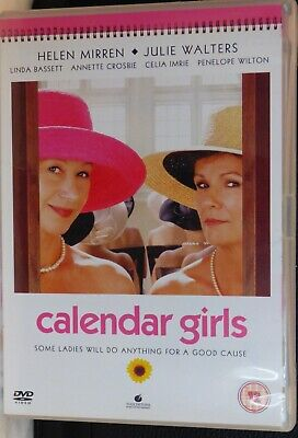 Calendar Girls - Helen Mirren, Julie Walters DVD (2004) Very Good Condition • 0.99£