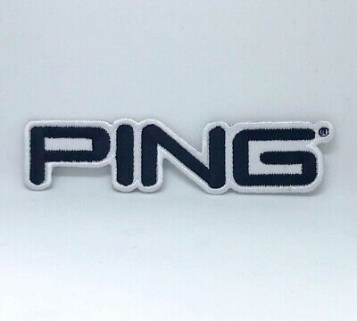 Ping Golf Title Iron On Sew On Embroidered Patch  • 1.85£