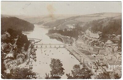 Ppc Looe & Estuary From View Point Hannafore Rd 1910 Vg Frith Postcard Cornwall • 0.99£