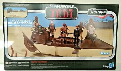 $ CDN42.81 • Buy Star Wars The Vintage Collection Jabba's Tatooine Skiff Collectible Vehicle NEW