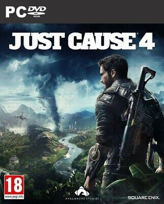 Just Cause 4 - Pc **new & Sealed** • 14.95£