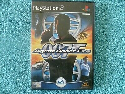 James Bond 007 Agent Under Fire Sony PlayStation 2 Ps2 Game - PAL - Free P&P • 2.49£