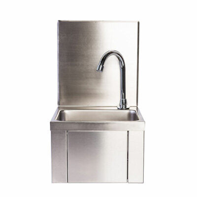 £105 • Buy Commercial Knee Operated Hand Wash Sink Basin. Hands Free Operation. Hygienic.