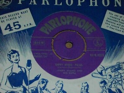 £4 • Buy Jimmy Shand  Happy Hours  Parlophone 45
