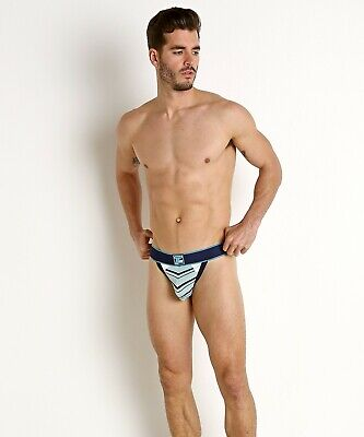 Timoteo Pacifica Thong Sea Foam / Navy Gay Interest Size Medium  • 7.40£