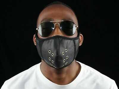 Leather Breathable Face Mask Suitable For Cycling And Outdoor Pursuits • 20£