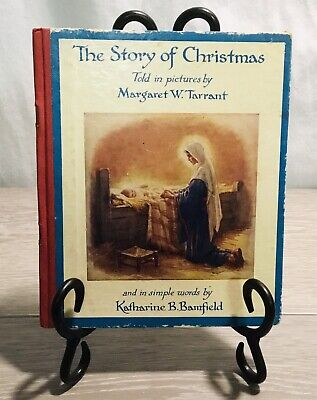 The Story Of Christmas Told In Pictures Margaret W. Tarrant 1st Edition HC 1952 • 14.18£