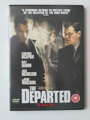 The Departed (DVD, 2007, 2-Disc Set) • 0.99£