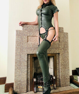 Honour Latex Rubber  Outfit S /10 Top Stockings • 20£