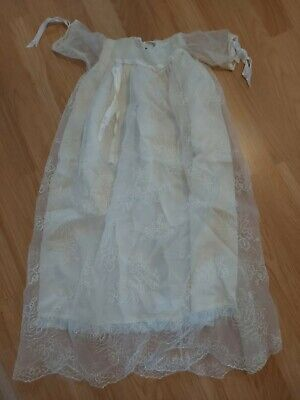 Genuine VINTAGE Baby Christening Gown Excellent Condition • 5£
