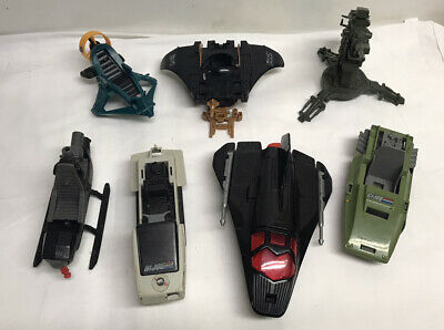 $ CDN63.10 • Buy Vintage Original 1980s GI Joe ARAH Lot Assorted Vehicles W/Missing Parts/Pieces