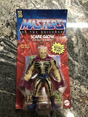 $21.50 • Buy MASTERS OF THE UNIVERSE ORIGINS SCARE GLOW 5.5 In HAND READY Ship 2020 Unpunched