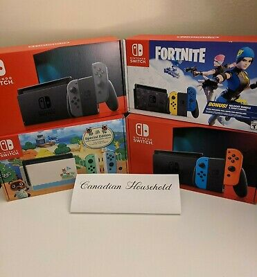 $ CDN389 • Buy Nintendo Switch Console - Assorted Colours - BRAND NEW