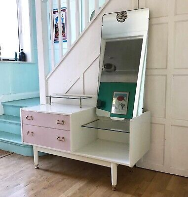 Vintage G-Plan Librenza Lilac Dressing Table Or Hall Table. E Gomme. Pink.  • 60£