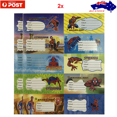AU2.99 • Buy 20 School Book Labels Name Stickers