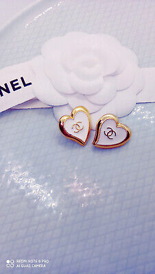 2 Genuine Stamped Chanel Buttons. Vogue Essential. Perfect Xmas Gift • 26£