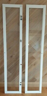Billy Bookcase Glass Doors White Complete With Hinges • 10£