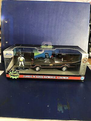 Jada  Classic Tv Series Batmobile And Batman Figure • 12.99£