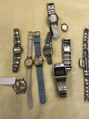 $ CDN5.10 • Buy As-is Lot Of Mixed Watches For Parts Or Repair