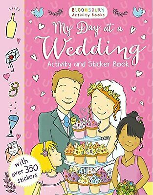 My Day At A Wedding Activity And Sticker Book (Chameleons) • 5.74£