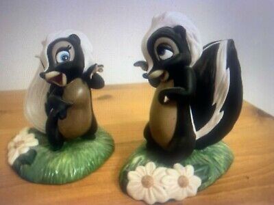 Bambi WDCC Walt Disney Classic Collection Flower & Miss Skunk 60th Anniversary  • 179£