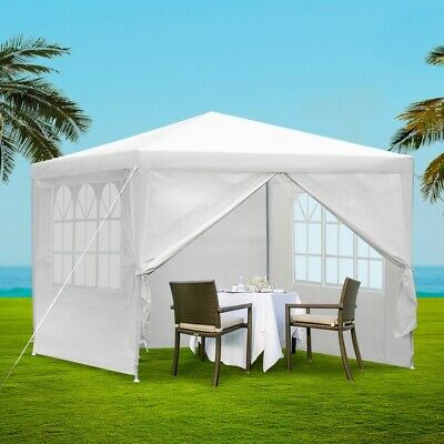 AU58.90 • Buy Instahut Gazebo 3x3 Party Marquee Wedding Canopy Outdoor Gazebos Camping White