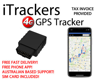 AU99 • Buy The EAGLE - 4G Cat-M1 GPS Tracker For Vehicle - Connects To OBD2 Port