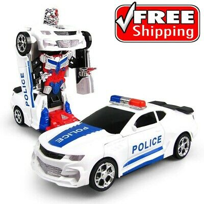 AU57.20 • Buy Toys For Boys 4 5 6 7 8 9 10 Year Old Age Kids Racing Car Robot Police Bday Gift