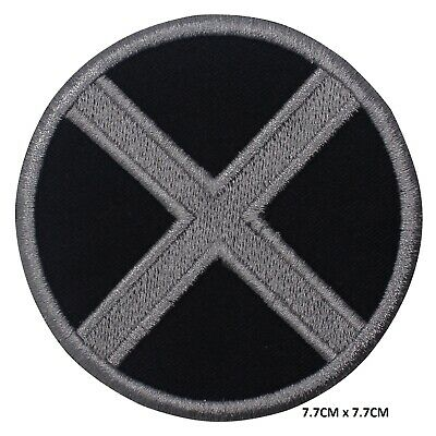 £1.99 • Buy X Men Super Hero Movie Iron On Patch Embroidered Patch Badge For Clothes Etc