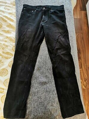 LEVI'S 511 PREMIUM BLACK CORD JEANS SLIM FIT W32 L32 RRP £85 In Great Condition • 4.40£