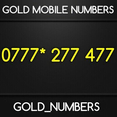 £400 • Buy Easy Vip Business Iphone 0777 Number Gold Number 0777*277477