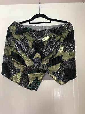 Asos Sequin Skirt Size 12.Ex.condition • 6.50£