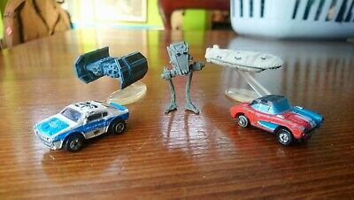 Vintage 1980s  Rare 2 Micro Machines Galoob Snapbacks Cars An Star Wars Joblot • 3£